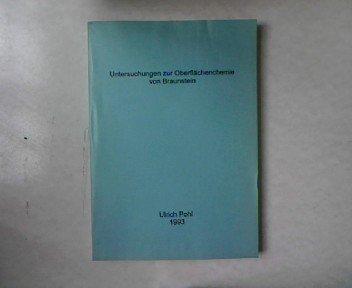 Untersuchungen zur Oberflächenchemie von Braunstein. Dissertation.