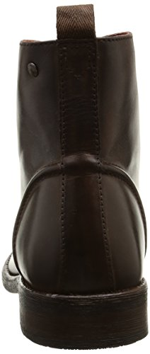Base London Clapham, Bottes Rangers homme Marron (Burnished Cocoa)