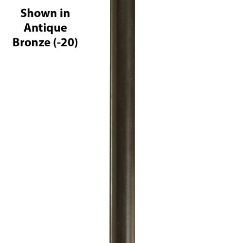 Progress Lighting P8601-09 Stem Extension Kit with 2-12-Inch and 2-15-Inch Stems Included, Brushed Nickel by Progress Lighting - Stem Extension Kit