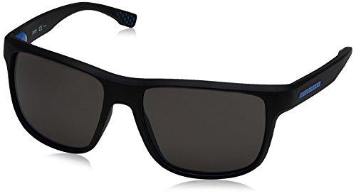 BOSS Hugo Herren 0799/S 6c Sonnenbrille, Schwarz (Soft Black/Grey Pz Oleopho), 57