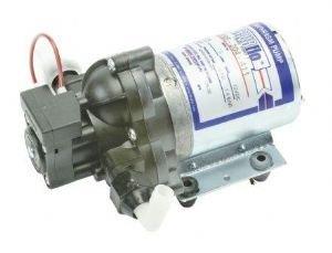 CARAVAN MARINE SHURFLO WATER PUMP 7 l/min 20 psi 12V Test