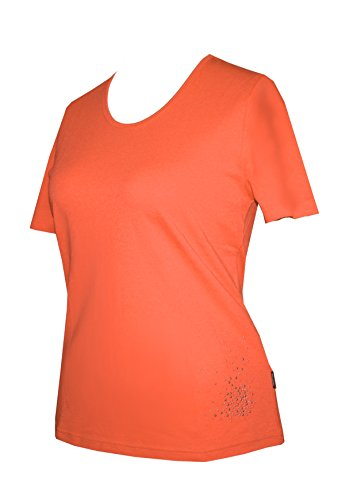 Schneider Sportswear LAURA Damen Shirt Pulli T-Shirt BODYLINE Orange