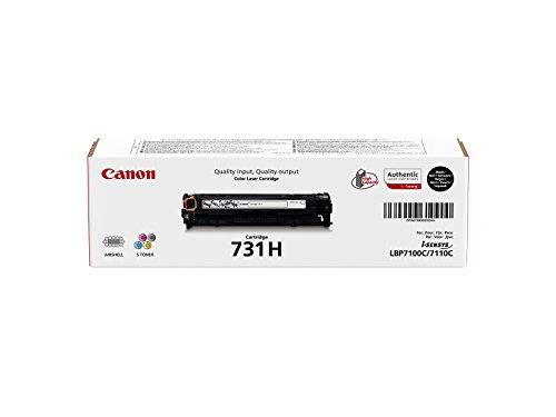 Canon 731H High Capacity Toner Cartridge, schwarz