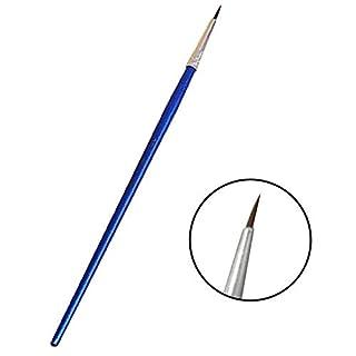 Pinceaux Détails fins, peint à la main miniature Brosse mince Hook Line Pen Dessin Art aquarelle Pinceau (10pièces/Lot) S s
