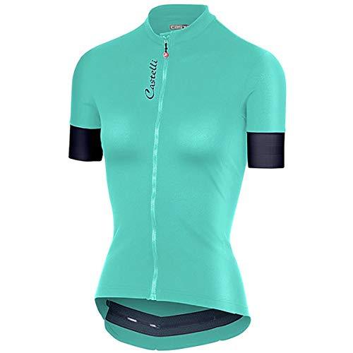 Castelli Damen Anima 2 Jersey Radtrikot Radtrikot Fahrradtrikot - Castelli Damen-bike-trikot