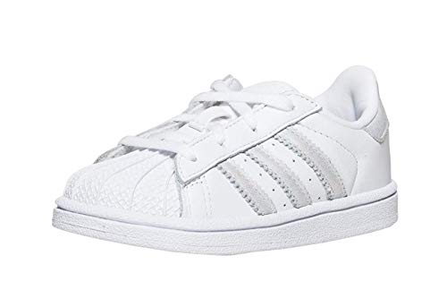 adidas Originals Kids' Superstar I Sneaker (Adidas Sneaker Toddler)