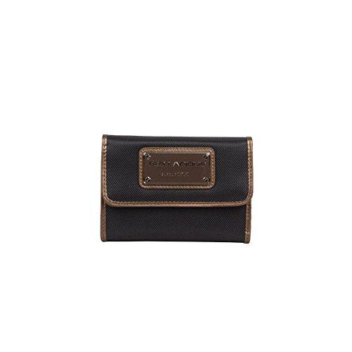 Porte monnaie toile Ted Lapidus Tonic TL NY42002 (Marron)