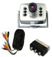 Bird Nest Box Colour Cctv Camera System With Sound & Night Vision