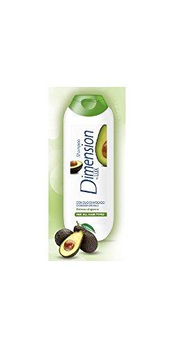 by lux shampoo con olio di avocado per tutti i tipi di capelli 250 ml
