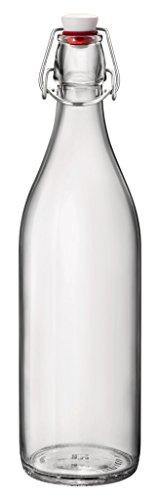 Bormioli 324Y - Botella Giara Transparente 1 Litro Bormi