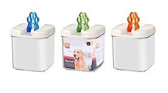 Hunde und Katzen Snackbox Futterbox Futterdose Frischhaltedose 17,8CM 1,8L