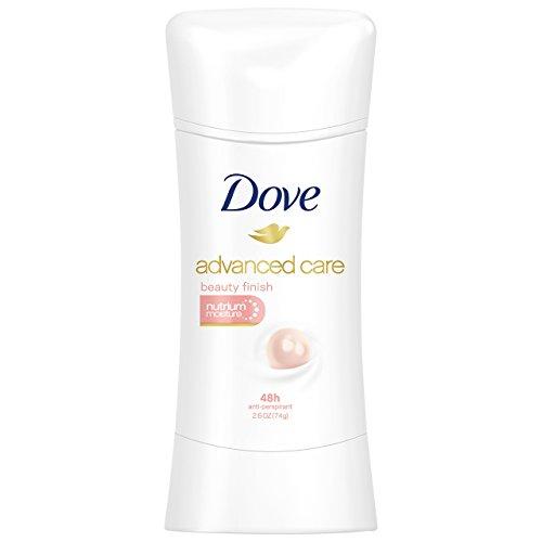Dove Advanced Care Anti Perspirant Deodorant, Beauty Finish 2.6 Oz