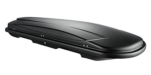 Dachbox VDP Xtreme 500 black schwarz universal Dachkoffer Autokoffer Reise, Camping abschließbar 500 Liter