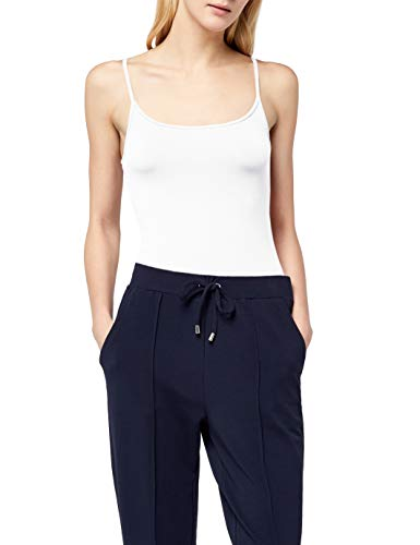 ESPRIT Damen 996EE1K907 Top, Weiß (White 100), 44 (Herstellergröße: XXL) - Stretch, Off-shoulder Top