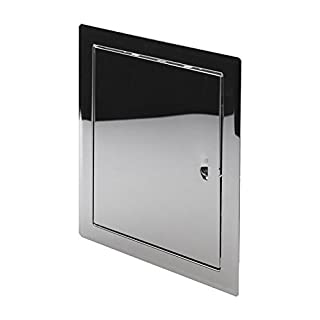 Stainless Steel High Quality Access Panel 200mm x 250mm Wall Inspection Door Loft Hatch Vision Service Point DMN55