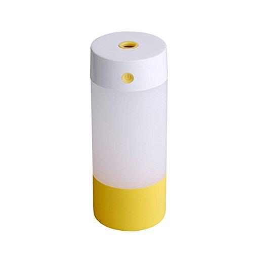zreal Niebla humidificador 250ml Oficina Escritorio tranquila USB luz nocturna mini humidificador para habitaciones Viaje Auto Dormitorio