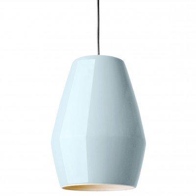 Lampe Suspension Bell Bleu en Porcelaine