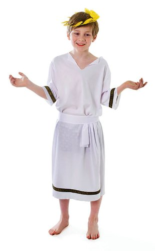 Kinder-Kostüm, Antiker Griechischer Gott, Caesar, für Jungen, - Gott-kostüm Griechischer Für Kinder