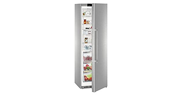 Liebherr KBES 4350 Premium BioFresh Freestanding 367L A + + + Stainless  Steel   Fridge (Freestanding, Stainless Steel, Right, Touch, TFT, ... Amazing Design