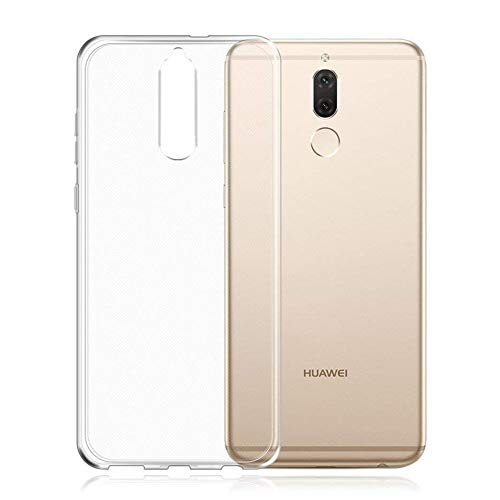 HINUOR Huawei Mate 10 Lite Hülle - Durchsichtig Handyhülle für Huawei Mate 10 Lite - Ultra Clear Flexible Silikon Handy Hülle TPU Case Cover, Backcover, Transparent Schutzhülle für Huawei Mate 10 Lite