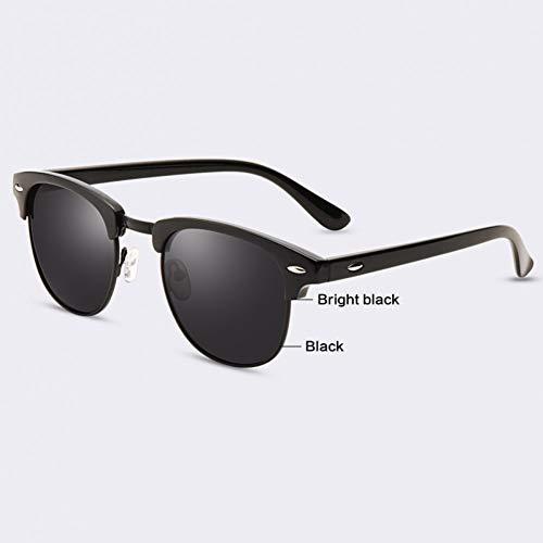 TIANZly Halbmetall Sonnenbrille Männer Frauen Markendesigner Brille Beschichtung Spiegel Sonnenbrille Mode