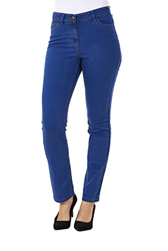 BHS Ladies Straight Leg Denim Womens Pants Stretch Regular Fit Jeans
