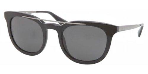 Prada Für Mann 13p Black / Grey Kunststoffgestell Sonnenbrillen