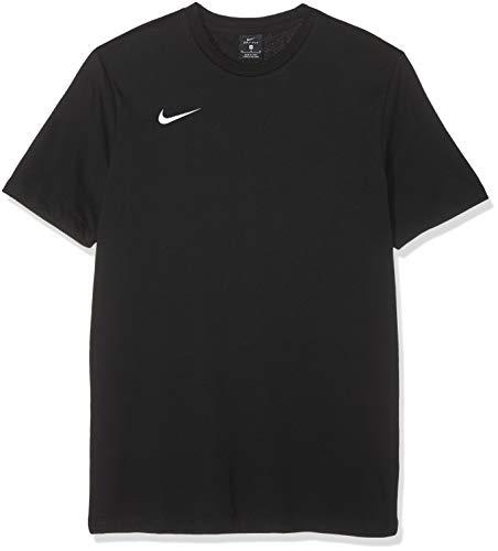 Nike Herren M Tee TM CLUB19 SS T-Shirt, Black/White, M