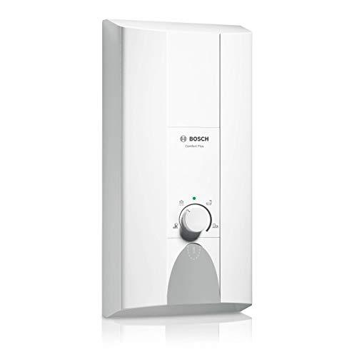 Elektronischer Durchlauferhitzer Tronic Comfort Plus 18/21 kW von BOSCH – Übertisch Warmwasserbereiter druckfest mit 2-in-1 Leistungsumschaltung und LED-Anzeige