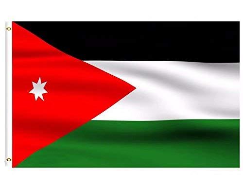 DFLIVE Länderflagge Asien Jordan