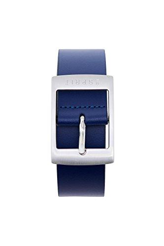 Esprit Accessoires 998ea1s802, Cinturón para Mujer, Azul (Navy 400), 90