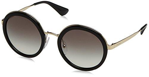 Prada Damen 0PR50TS 1AB0A7 54 Sonnenbrille, Schwarz (Black/Grey),