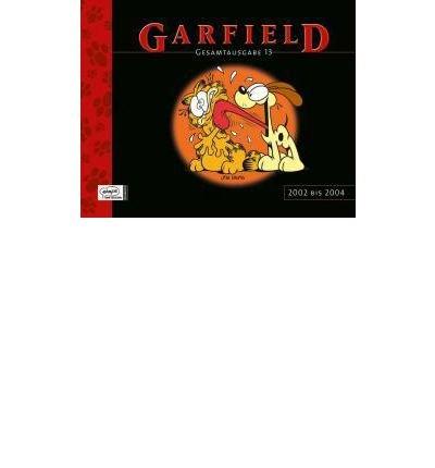 Garfield Gesamtausgabe 13: 2002 bis 2004 (Hardback)(German) - Common