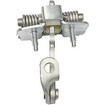 De Metal de Puerta de Coche Compruebe la Correa de reemplazo tapón Derecho Delantero Izquierdo Peugeot