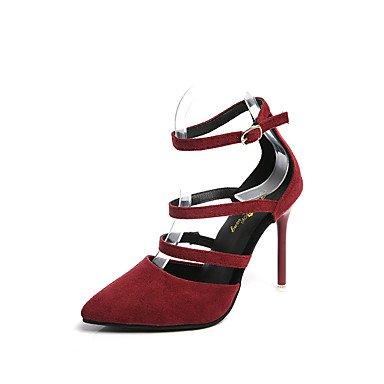 Zormey Damen Sandalen Komfort Im Sommer Pu Casual Niedrigem Absatz Perlen Schwarz Weiß Zu Fuß US6 / EU36 / UK4 / CN36