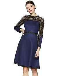 Madame Women's Empire Knee-Long Dress