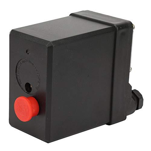 Pressostat, commutateur de commande de pression monotrou vertical de haute qualité pour compresseur d'air 380V 75~175psi