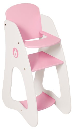 *Bayer Design 5010100 – Puppenhochstuhl Princess World*