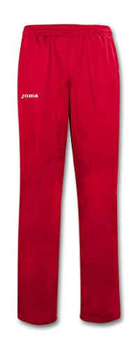 Joma Plufleece, Pantalone Unisex-Adulto Rosso