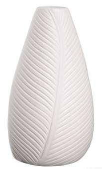 ASA Selection Leafs Vase Porzellan H 18 cm 5x7, 5 cm