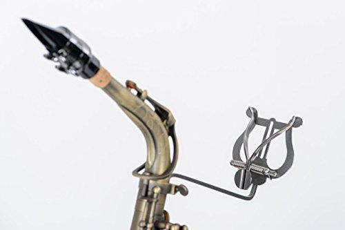 Lyra G581 für Saxophon, Marschgabel, Marschbuchhalter, Notenhalter aus Edelstahl