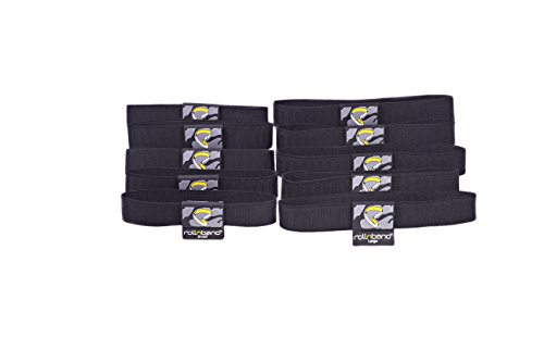 rollnband-rb55blk-space-saving-travel-band-black-combo-size-10-pack