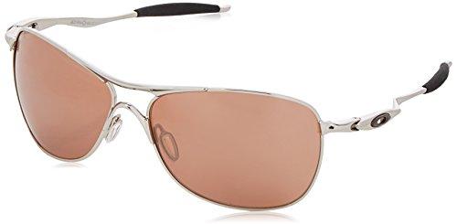 Oakley Herren Sonnenbrille Crosshair Silber (Silver Black Iridium), 61