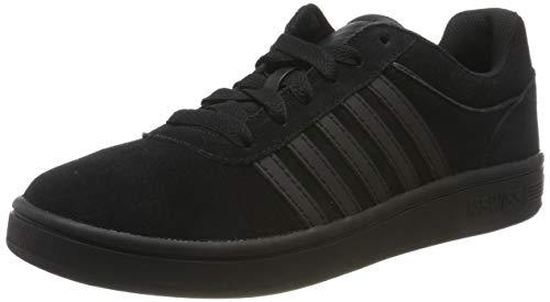 K-Swiss Herren Court CHESWICK SDE Sneaker, Schwarz Black 001, 47 EU