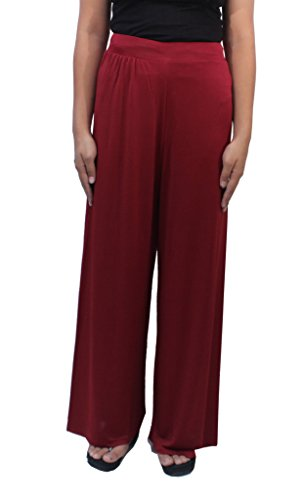 Romano Women's Brown Plazo Pant