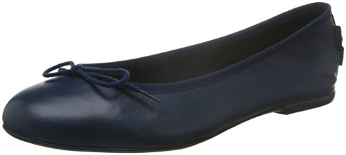 French Sole Basic Ballet - Ballerine donna, colore blu (navy), taglia 37 1/2 EU (4.5 UK)