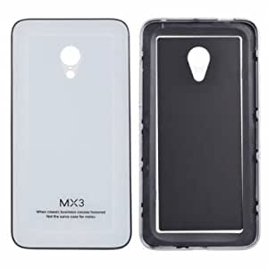 Generic Toughened Glass Back Cover Aluminum Frame PC Case For MEIZU MX11