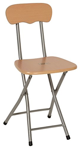 Haneez Folding Chair, Beautiful, Portable, Premium Wood for Home, Office, Outdoor, Brown