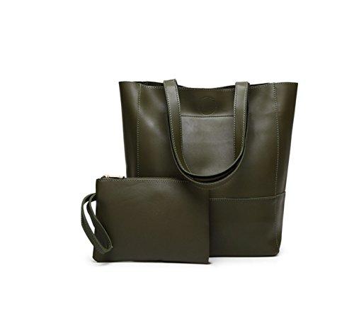 La Signora Borsa Tracolla Messenger Bag Tote Green