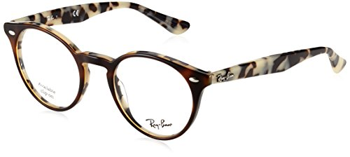 Ray-Ban Herren Brillengestell 0rx 2180v 5676 47, Braun (Top Brown Havana On Avana Beige)